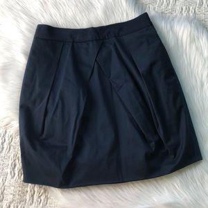J. Crew Navy Lunette Mini Skirt